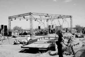 Backstage Preparations